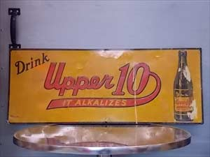 Upper 10 Tin Sign